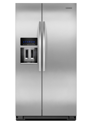 Kitchenaid Standard Depth Side By Side Refrigerator Architect Series Ii  Ksf26c4xyy00