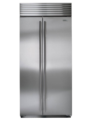 Sub Zero 36 Inch Built In Side By Side Refrigerator Model
