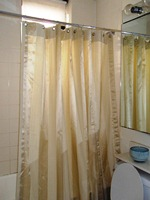 Hang Your Finished Shower Curtain And Admire Your Work!