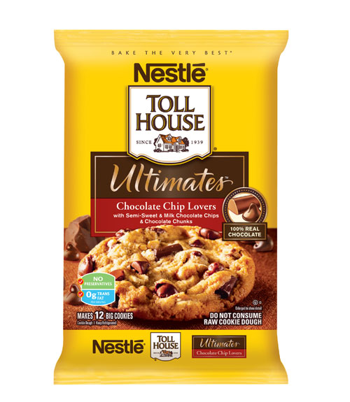 Nestle Toll House Ultimates Chocolate Chip Lovers Cookie Dough