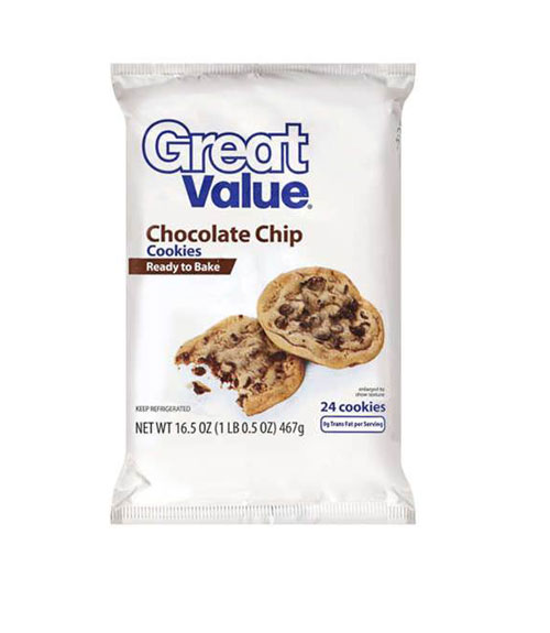 Great Value Chocolate Chip Cookie Dough