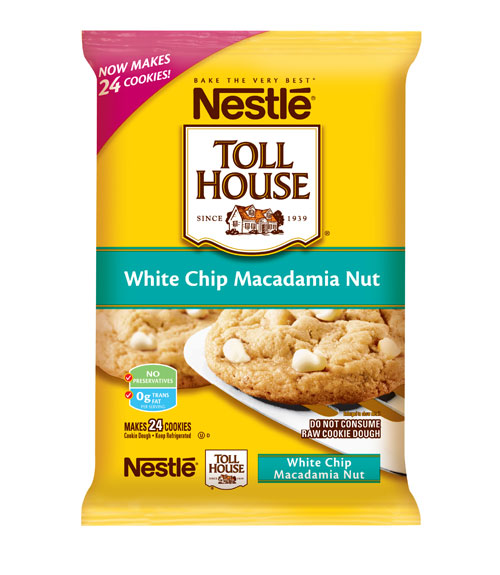 Nestl Toll House White Chip Macadamia Nut Cookie Dough Review