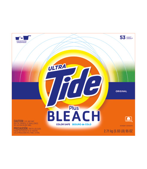 Ultra Tide Plus Bleach Powder Review