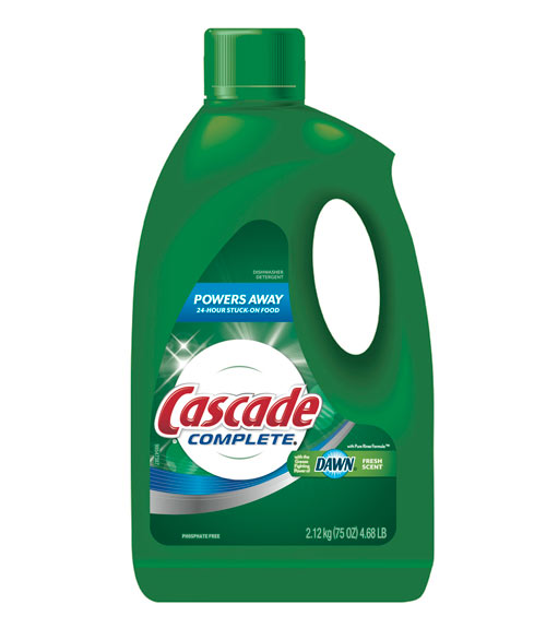 Cascade Complete Dishwasher Detergent Gel Review