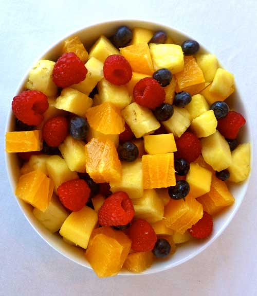 hawaiian fruit healthy fruit salad recipe