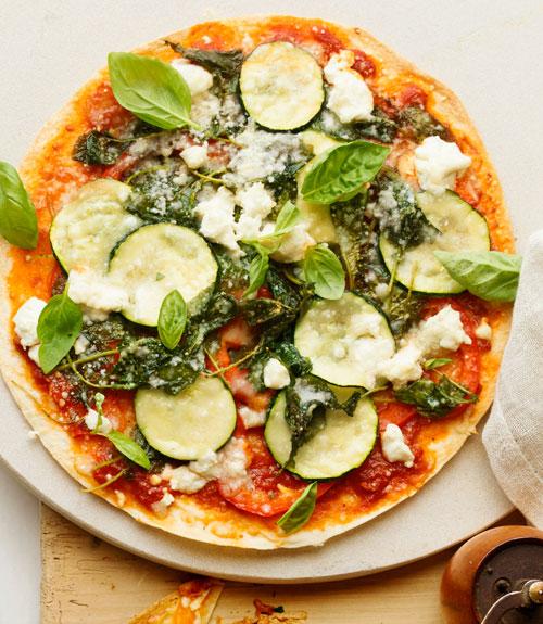 skinny veggie pizza recipe