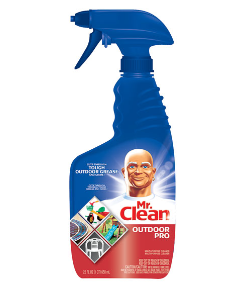 Mr Clean Outdoor Pro Multi Purpose Spray Grill Cleaner Review