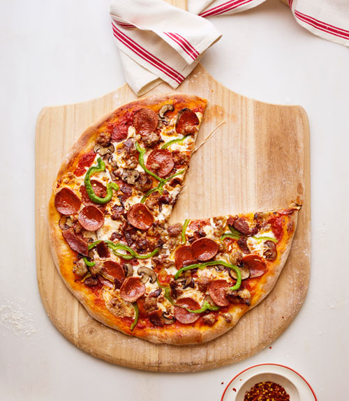 Meat Lovers' Supreme Pizza Recipe