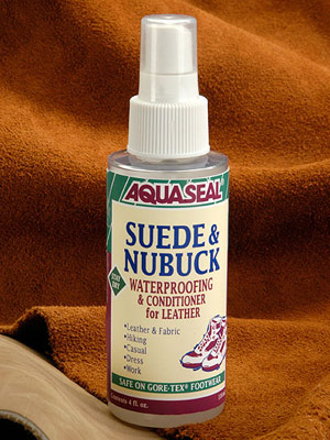 Suede waterproof spray