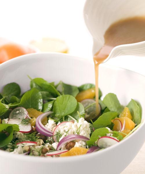 Заправки для салат из бальзамического уксуса