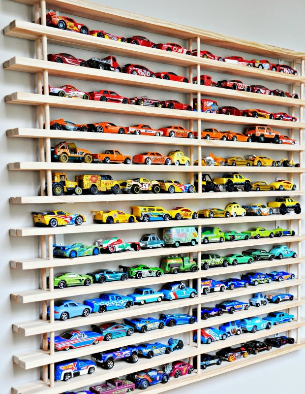 Great One Momu0027s Genius Solution To A Toy Car Overload