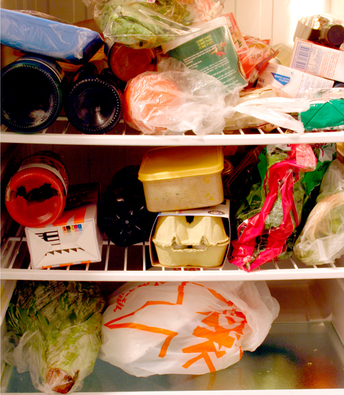 Messy Refrigerator: What's In Your Refrigerator