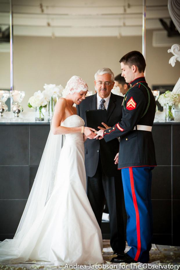 Inspiring Weddings Military Cancer Wedding