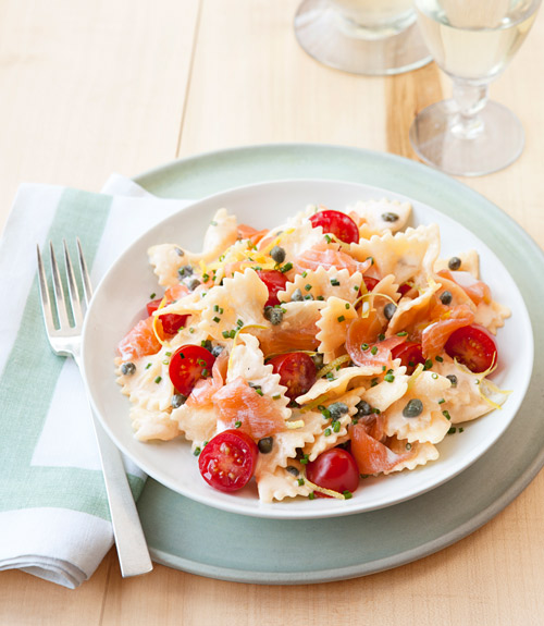 Smoked salmon creamy pasta recipes
