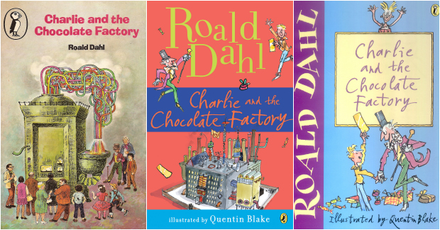 New Charlie and the Chocolate Factory Book Cover - Charlie and the ...