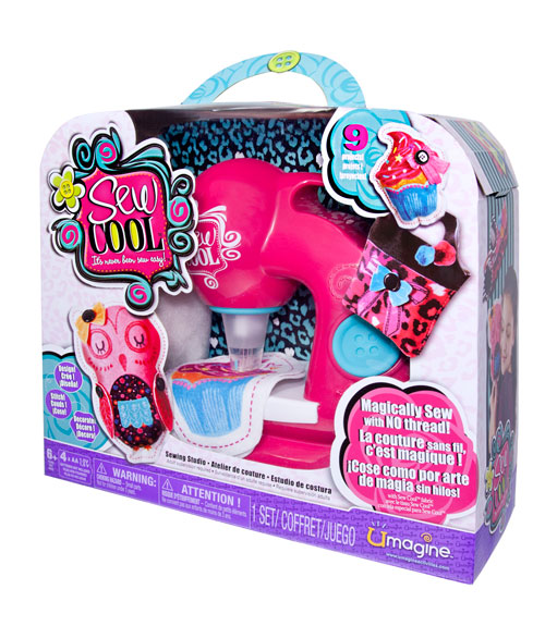 Machine Toys For Girls : Spin master sew cool review