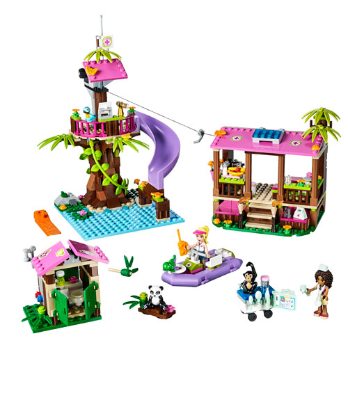 lego friends jungle rescue base review