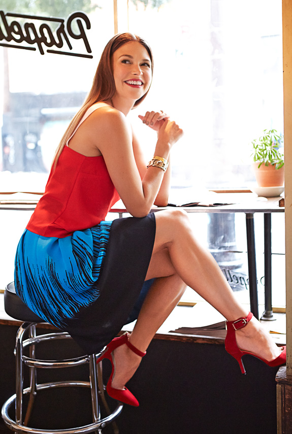 Sutton Foster Interview Spotlight On Younger Actress On Sutton Foster