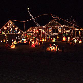 Christmas light decoration ideas outdoor christmas Outdoor christmas display ideas