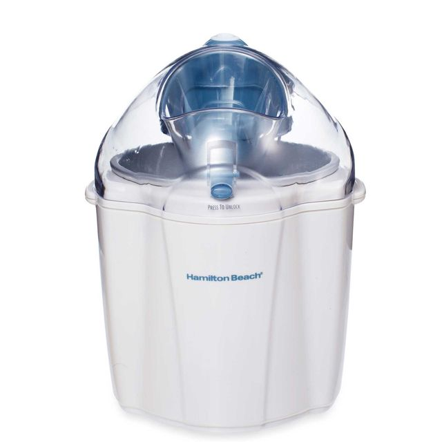 Awesome Ice Cream Maker Reviews Part - 6: Hamilton Beach 1 And A Half Quart Capacity Ice Cream Maker