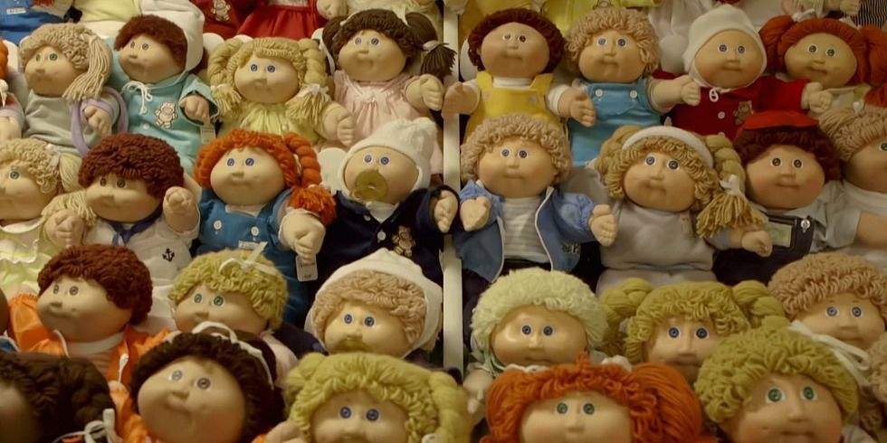 Image result for cabbage patch kids