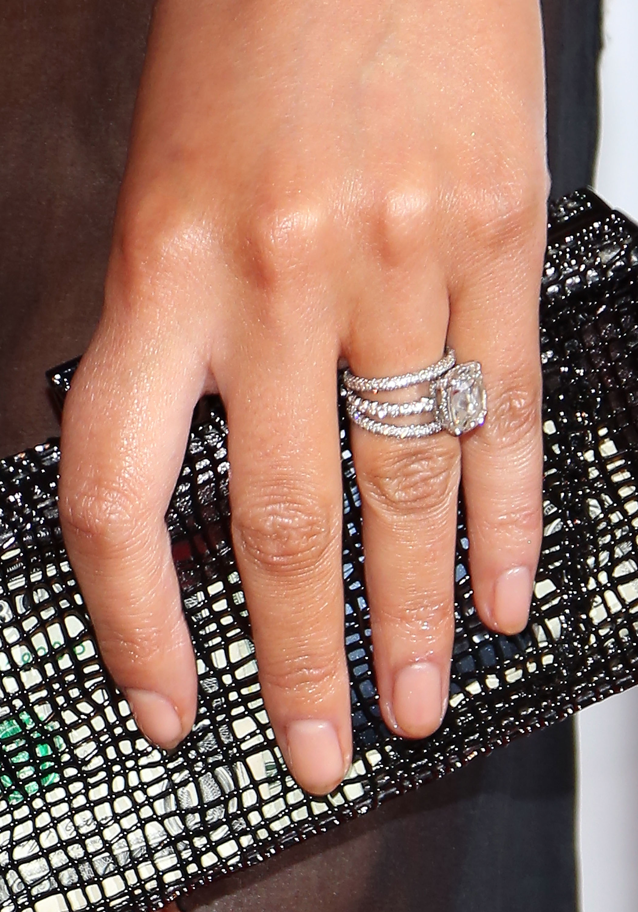 15 Biggest Celebrity Engagement Rings Most Famous Wedding Rings