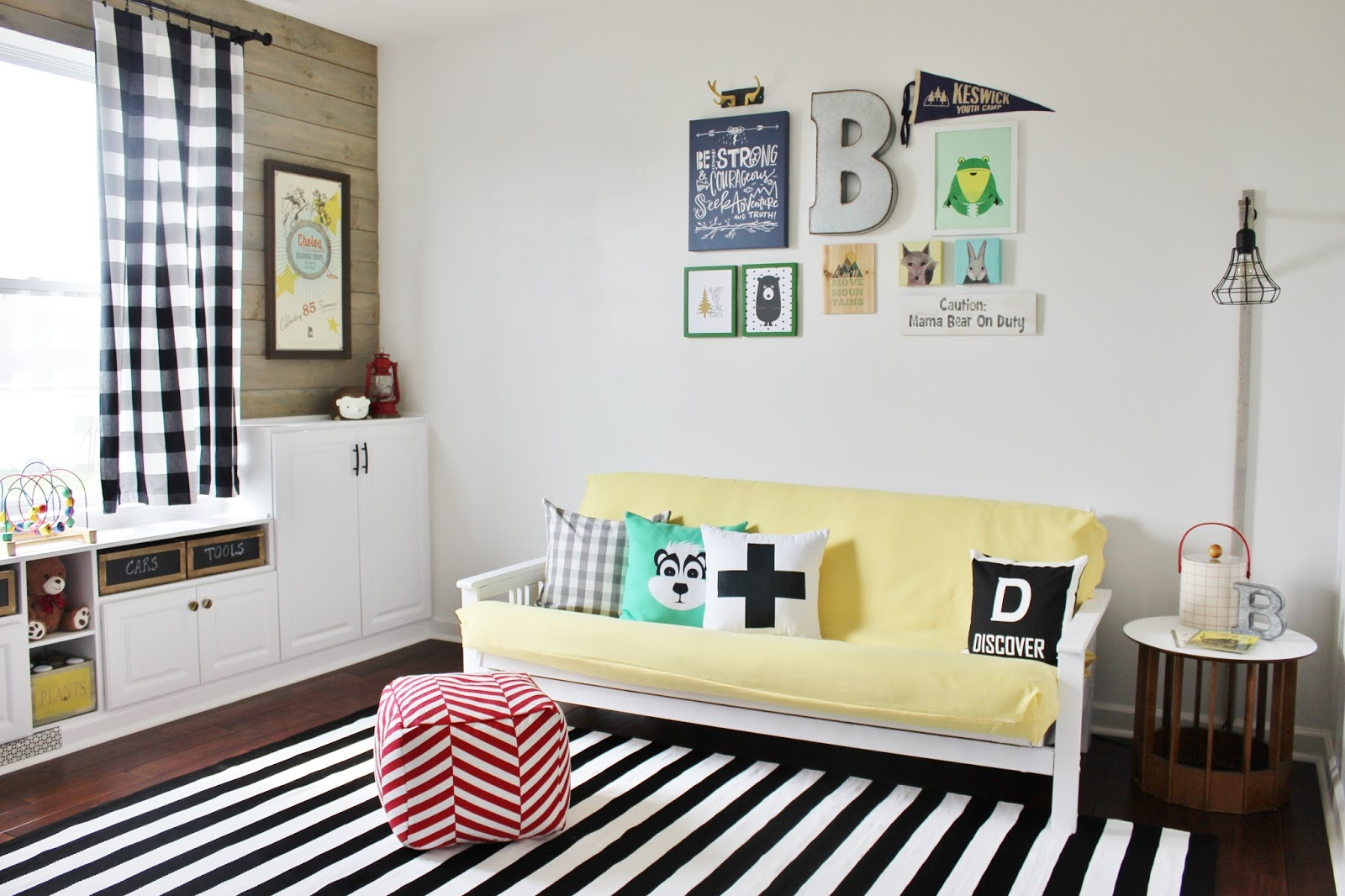 ideas for children's small attic playrooms - Kids Room Makeovers DIY Boys and Girls Bedrooms