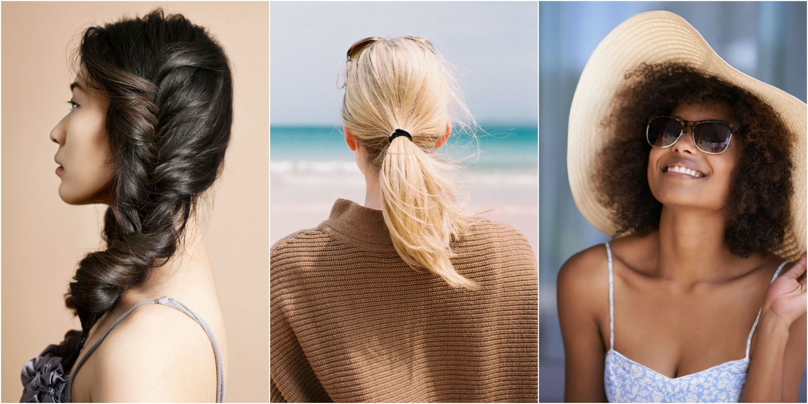 what your lazy day hairstyle says about you - easy, lazy hairstyles