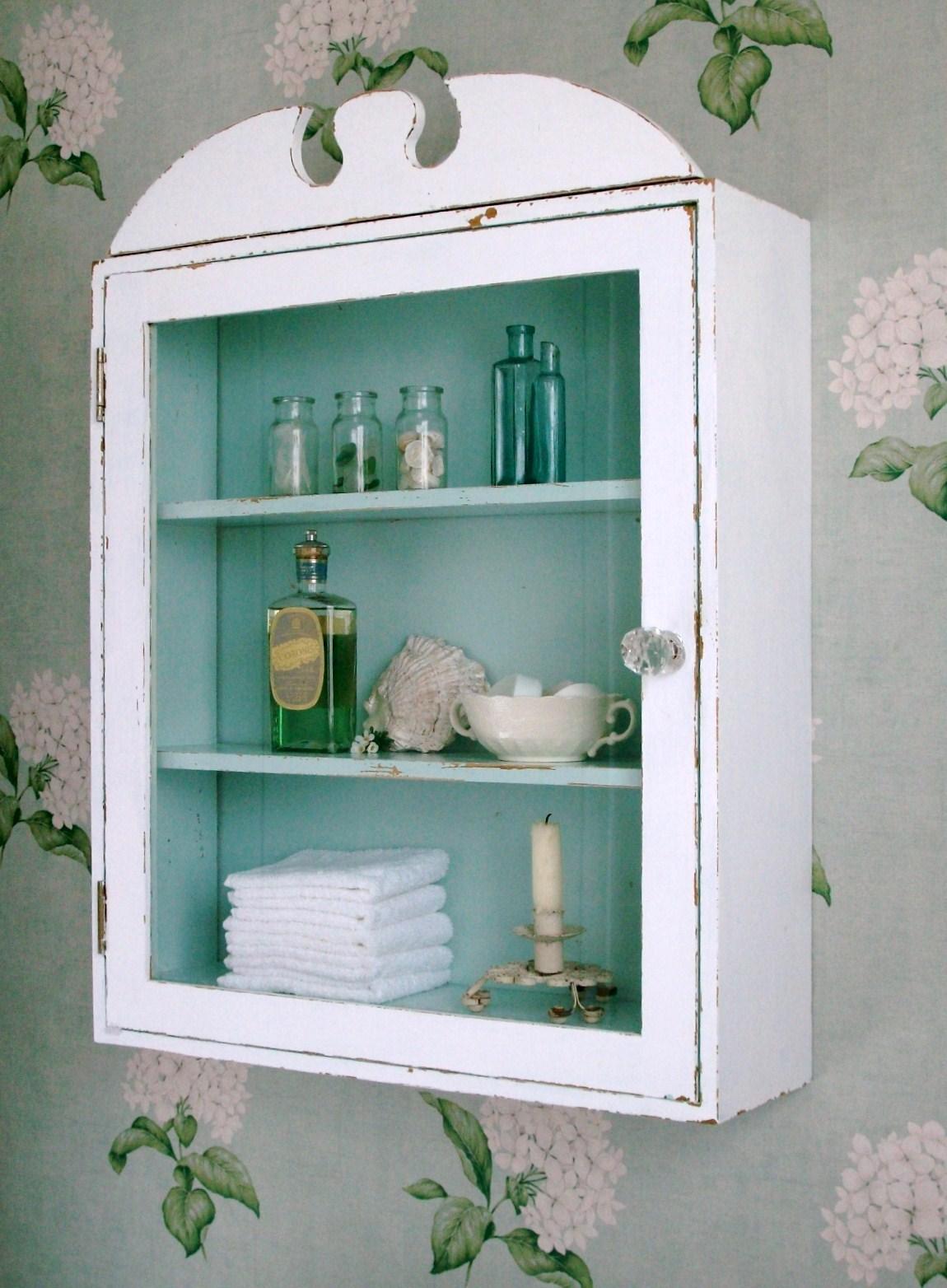 Gl Door Bathroom Cabinet Techieblogie Info