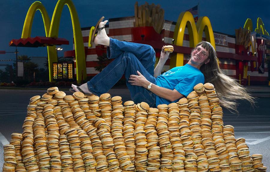 Most Big Macs Guinness World Record Gorse