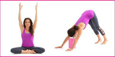 yoga stretches to wake you up in the morning  yoga poses