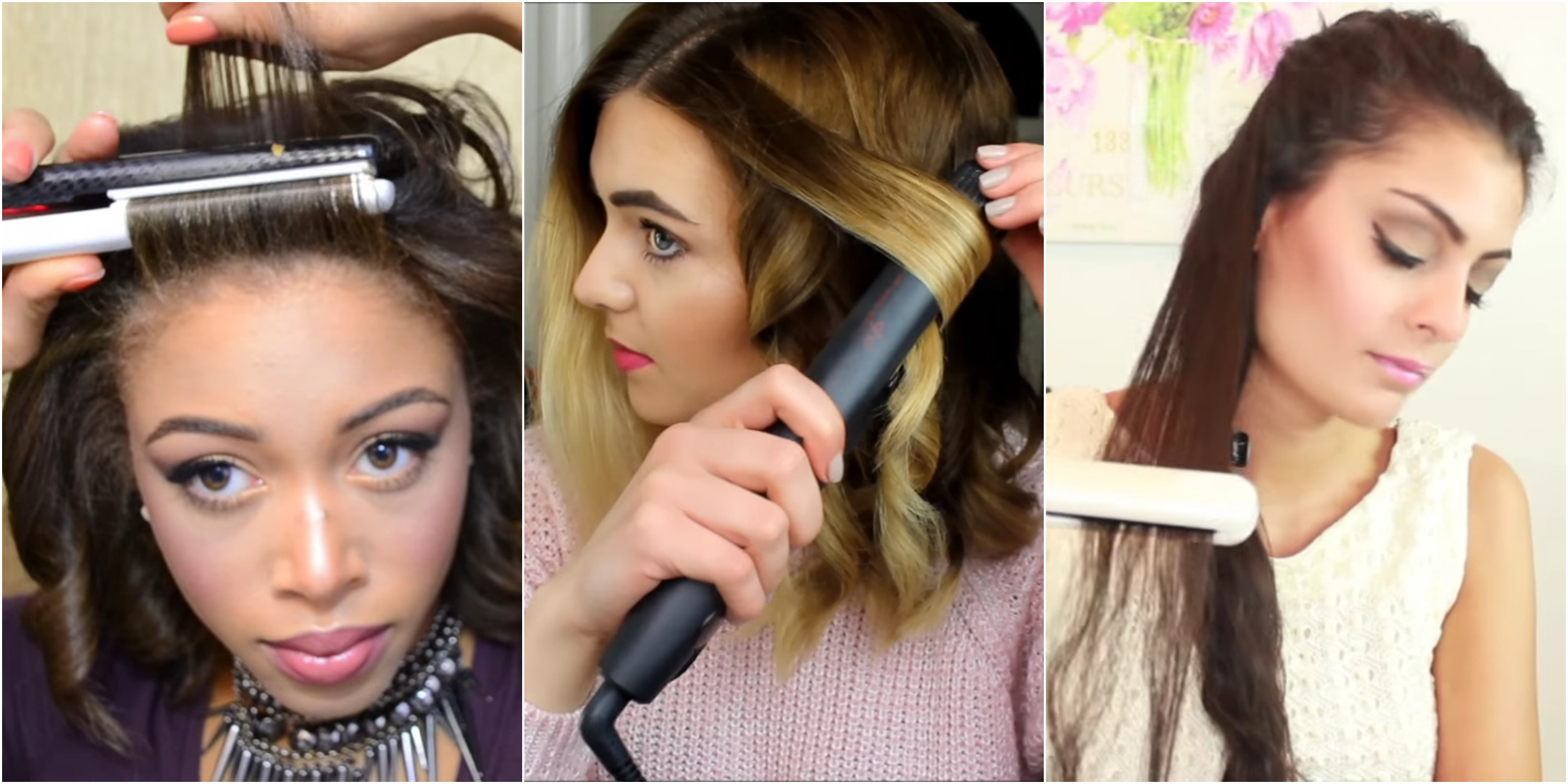 how to style short hair with curling iron 8 ways to use your flat iron flat iron hacks 7125 | 1454968351 ways to use flat iron index