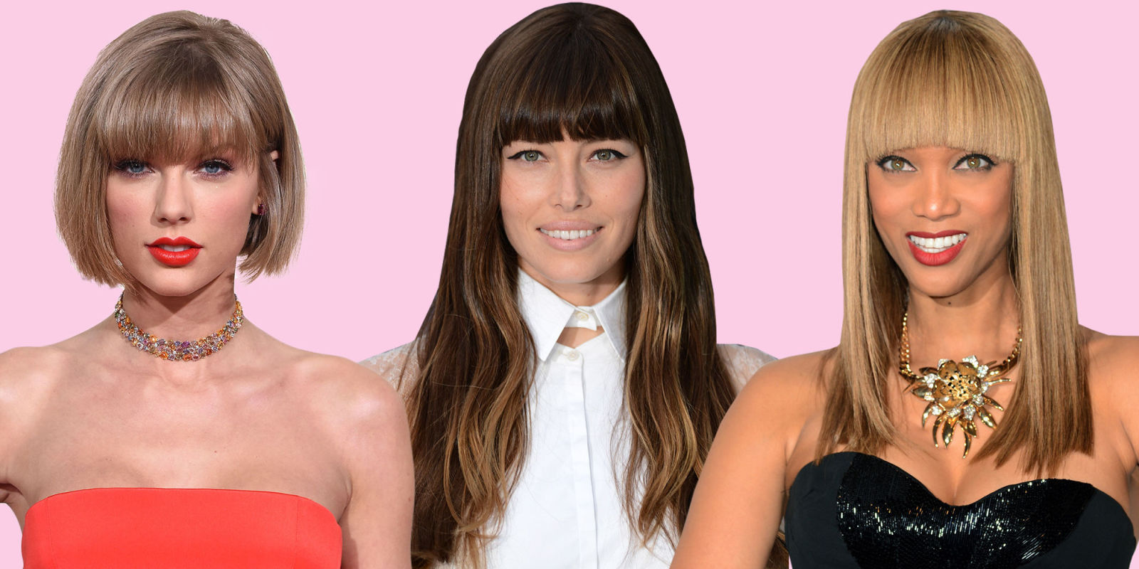 how to style straight hair with bangs blunt bangs are so trendy for 2016 best blunt styles 4896 | landscape 1456334913 blunt bangs