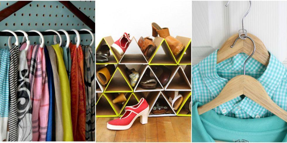 30 Closet Organization Ideas Best Diy Organizers. Crafty Closet Organizer