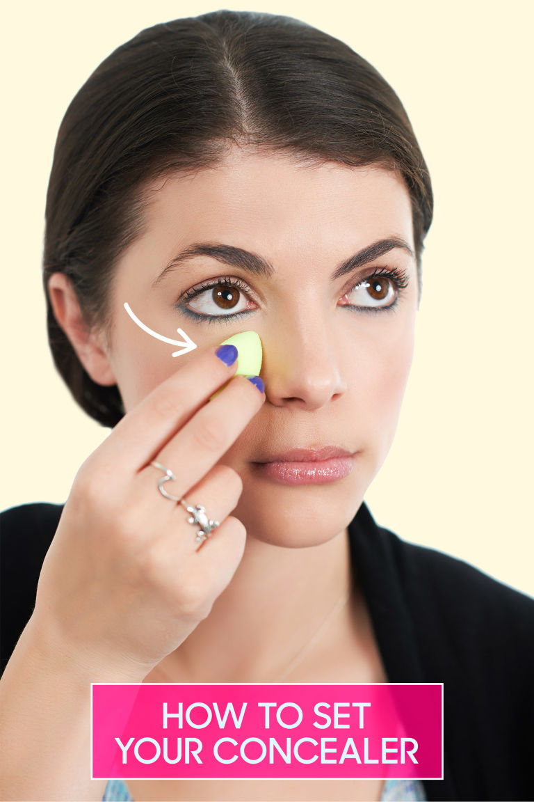 How To Apply Concealer And Foundation Under Eyes