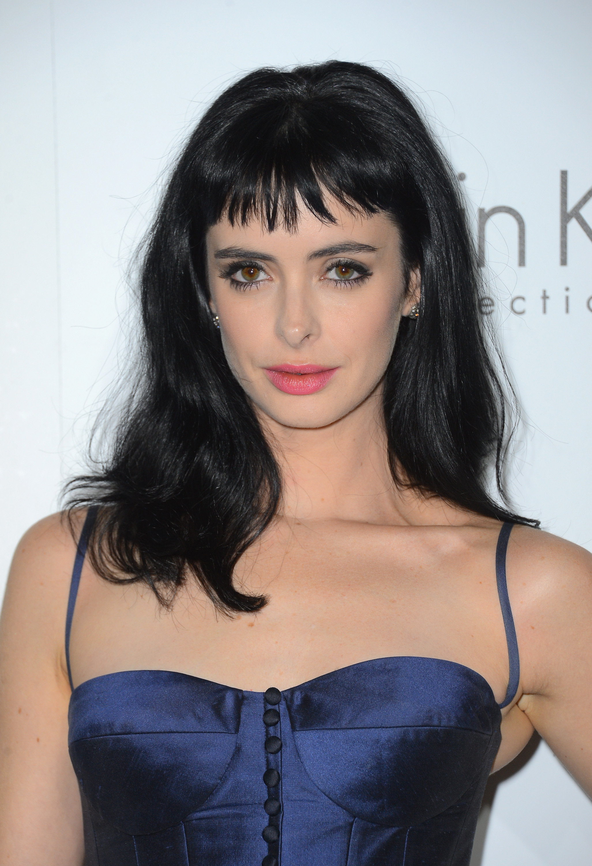 pretty easy hair styles 25 hairstyles with bangs photos of haircuts 2963 | krysten ritter bangs