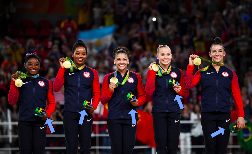 olympic flowers 1471021205 usawomensplusarrow This Is Why the Olympic Medalists Aren't Getting Flowers in Rio Games 2016 Tomatoheart 5