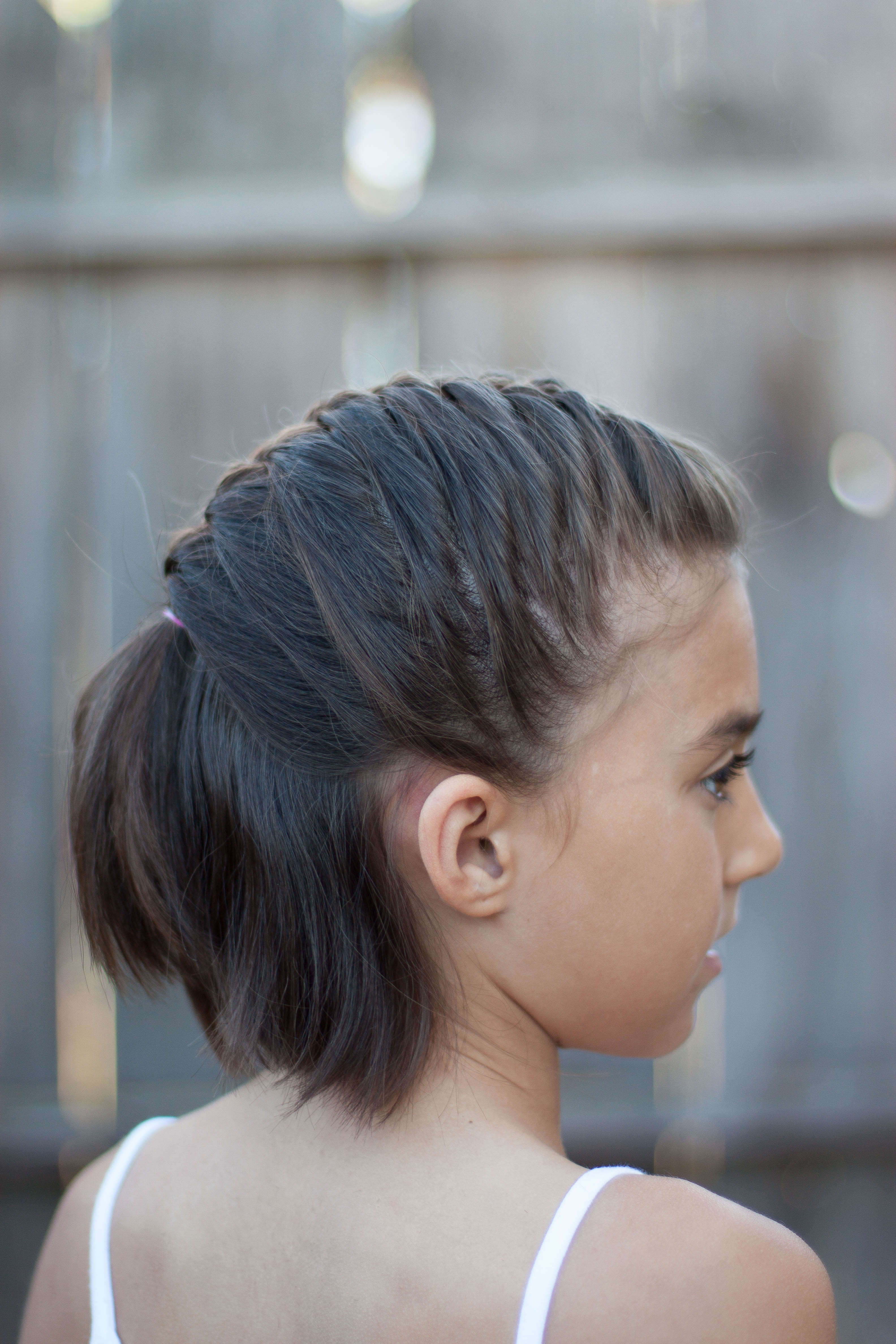 27 cute kids hairstyles for school - easy back to school hairstyle