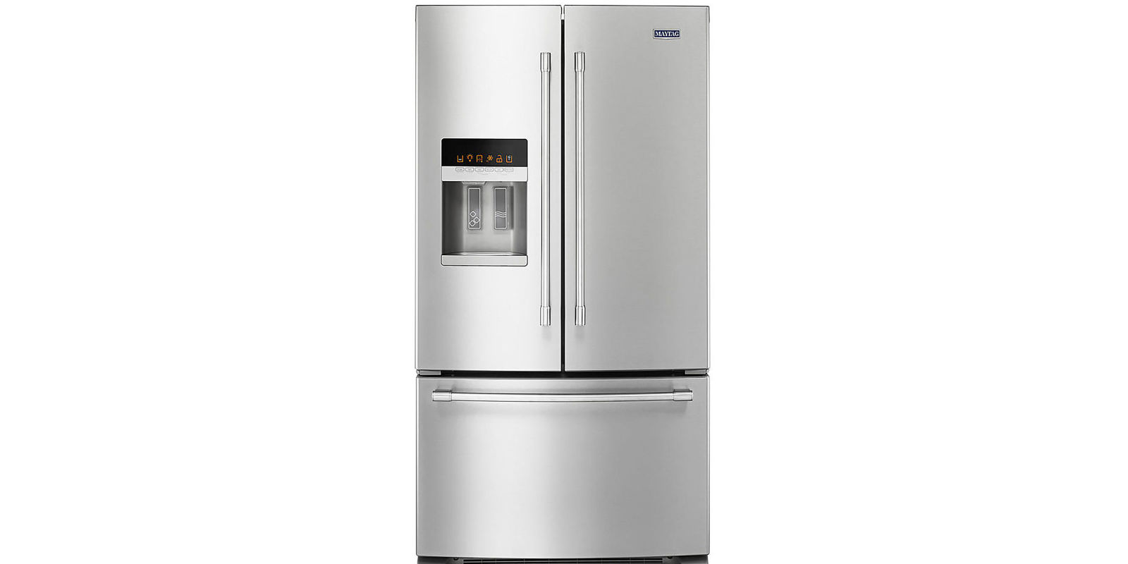 French Door kenmore elite french door refrigerator reviews photos : Maytag 36-Inch Wide French Door Refrigerator 25 Cu. Ft ...