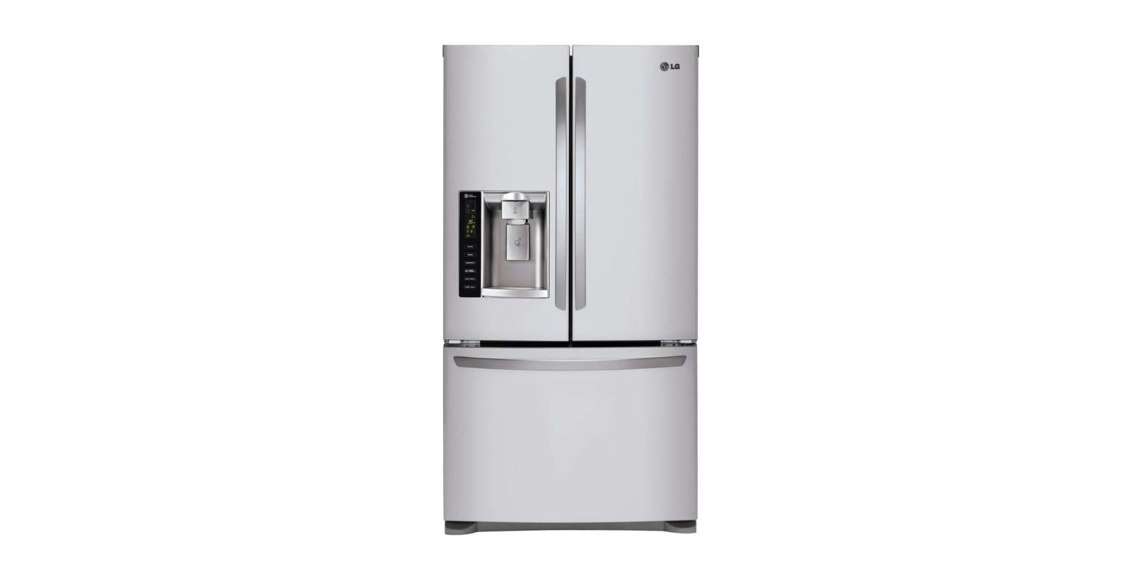 French Door kenmore elite french door refrigerator reviews photos : LG Ultra-Capacity Counter Depth 3 Door French Door Refrigerator ...