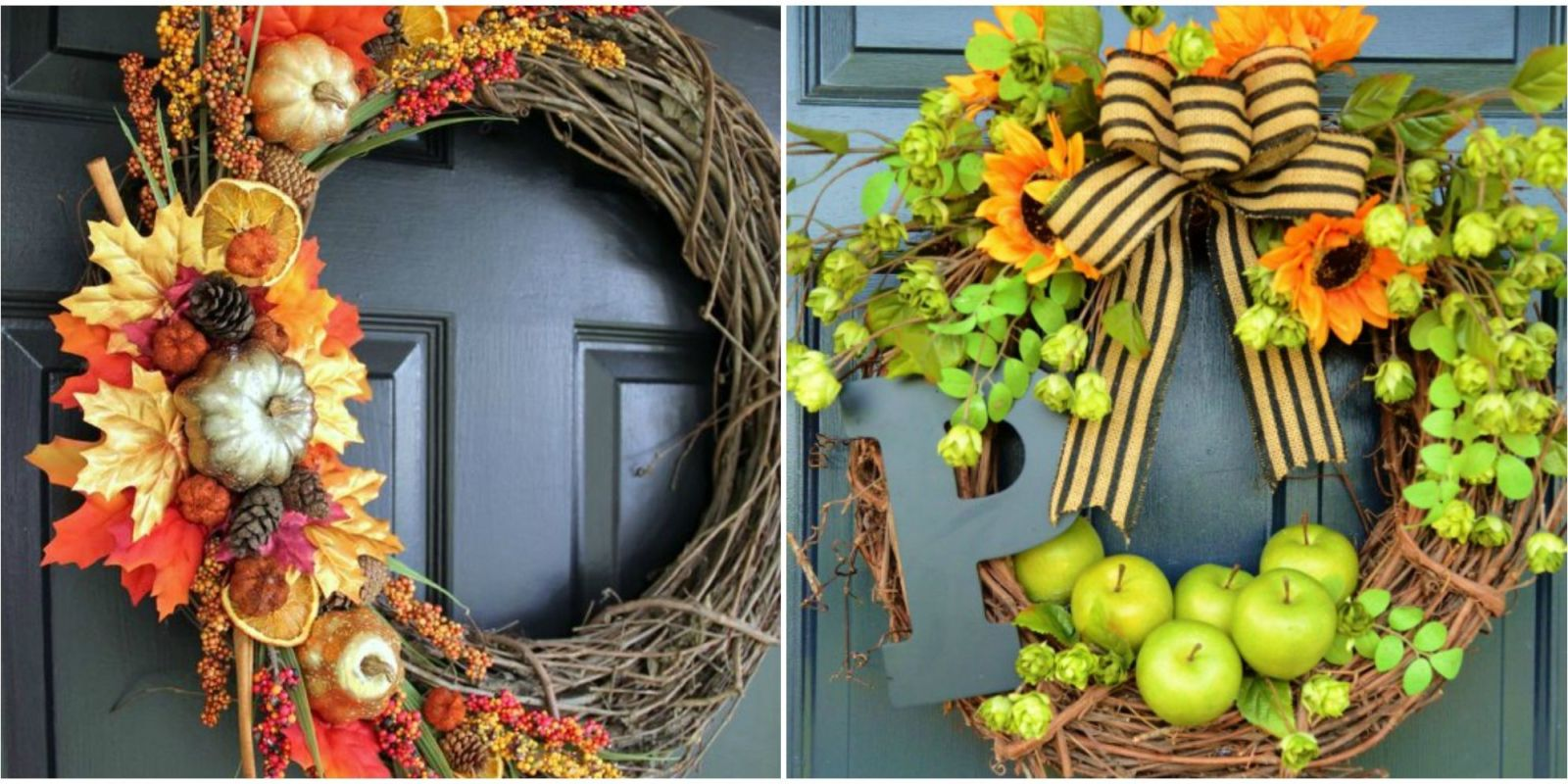 fall wreath craft ideas 26 easy diy fall wreaths best wreaths for fall 4429