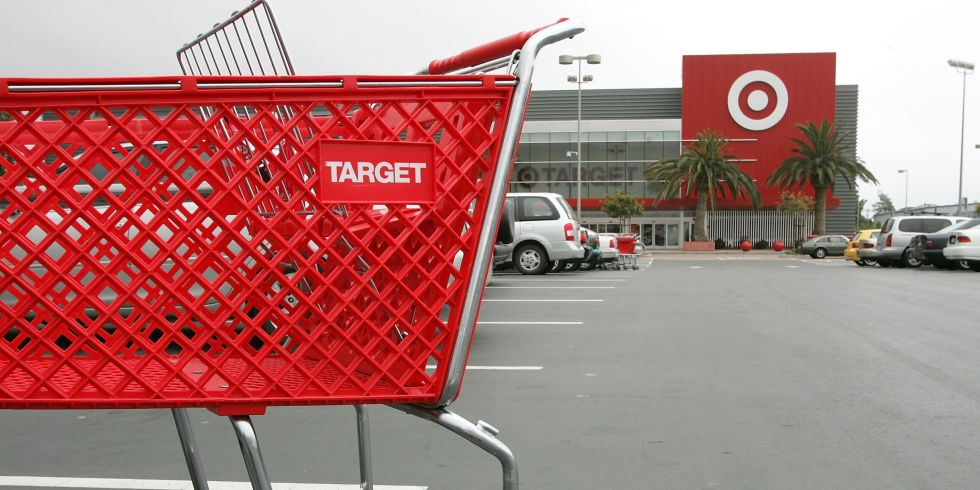 Target store and shopping cart
