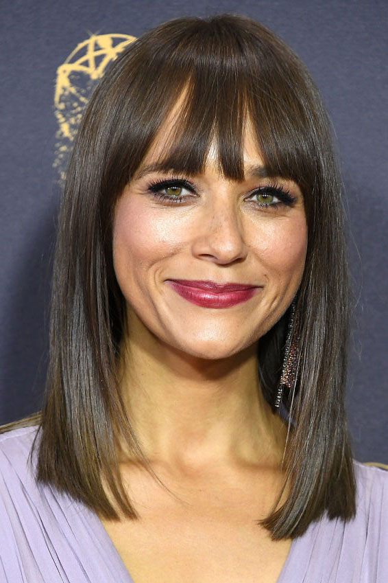 shoulder length haircut with side bangs 30 best hairstyles with bangs photos of 1375