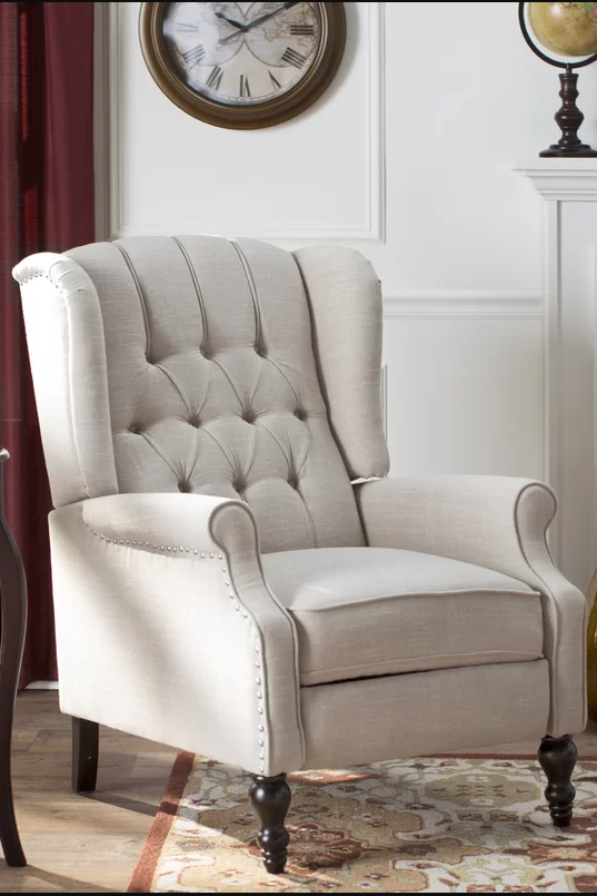 cream comfy chair 15 best recliners top stylish recliner chairs 13595 | 1508790757 1henley