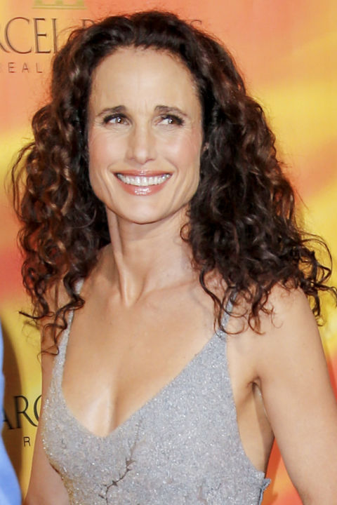 womens hair styles over 50 50 best hairstyles for 50 haircuts 7272 | andie macdowell hair