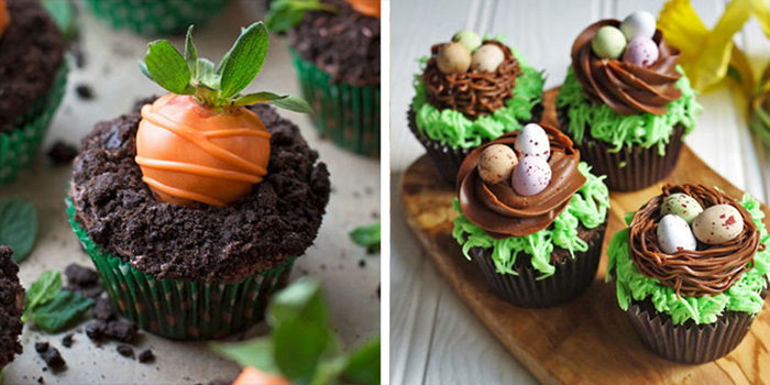 20 Easy Spring Cupcake Ideas Decorating Cute Spring Induced Info