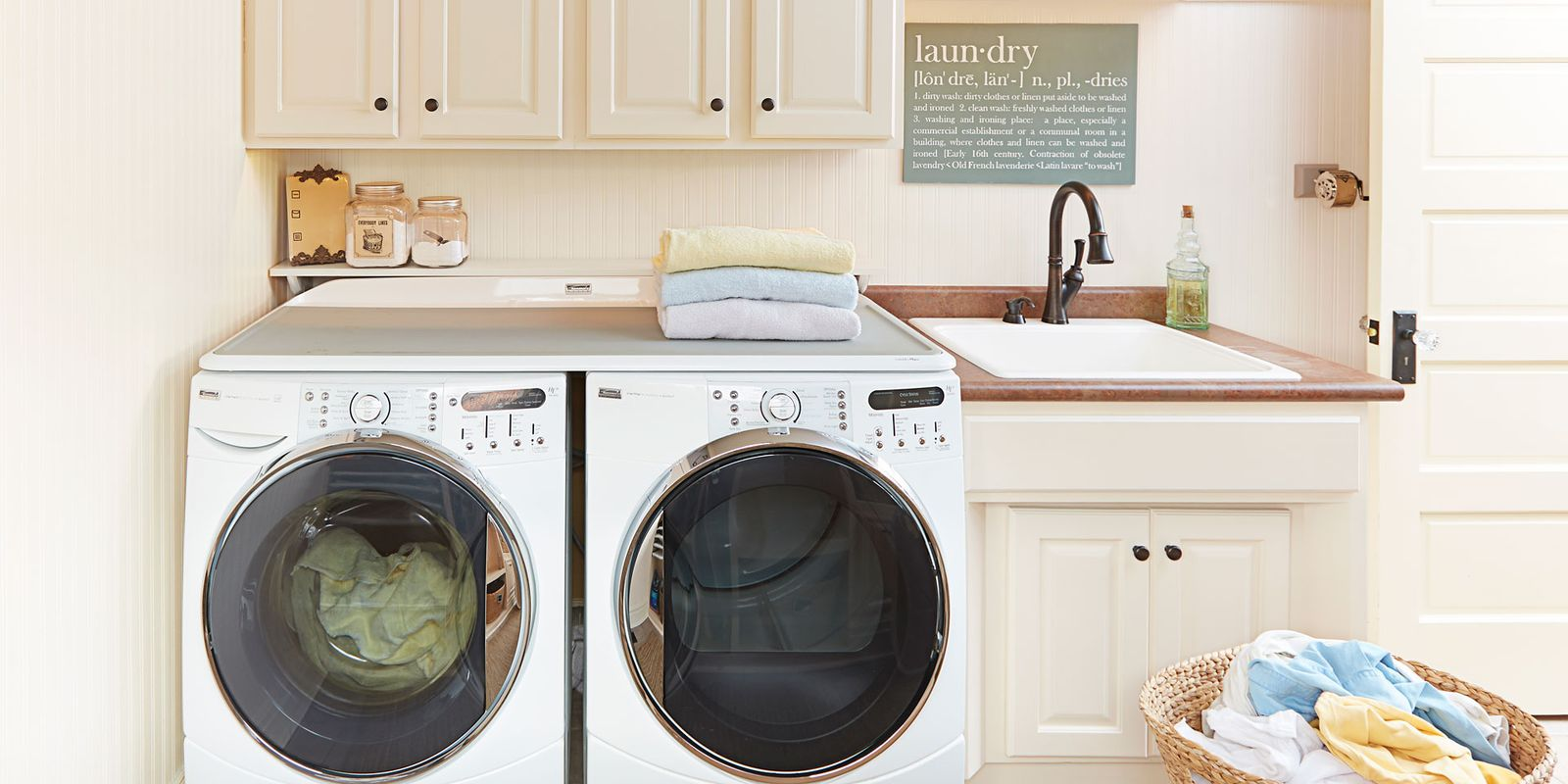 pictures of kitchen decorating ideas create an organized laundry room easy laundry day tips 25464
