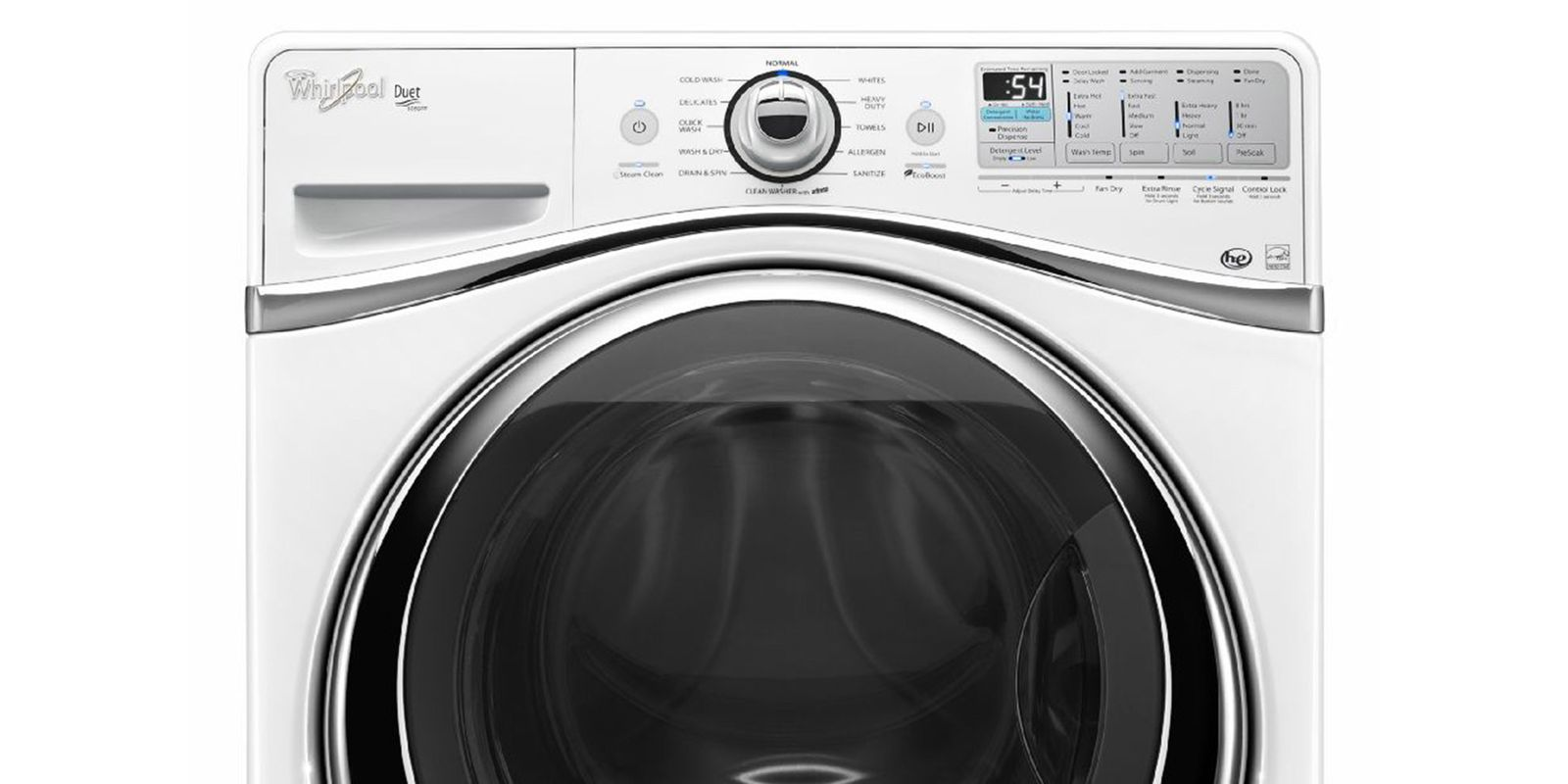 best front load washer whirlpool 4 3 cu ft duet steam front load washer with 31182