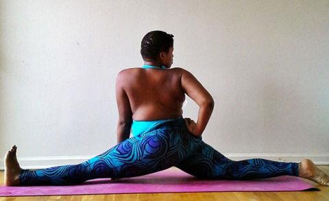 jessamyn stanley yoga instagram  yoga for all sizes