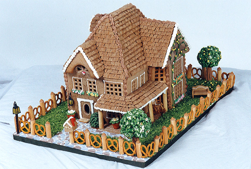 56 Amazing Gingerbread Houses of Gingerbread House